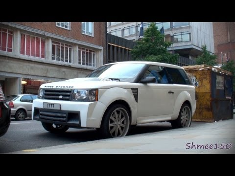 Range Stormer - 'Coupe' Range Rover by West Coast Customs
