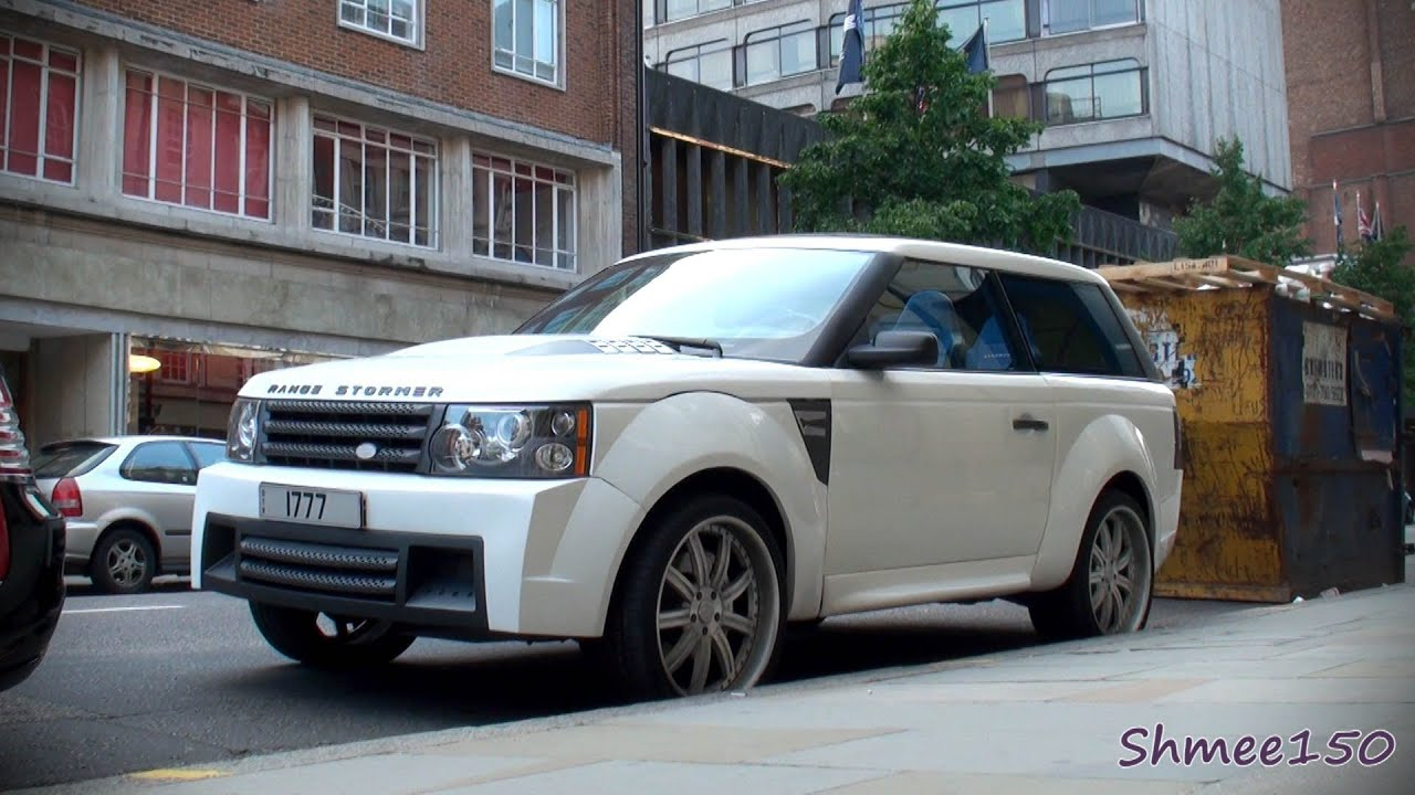 Range Stormer Coupe Range Rover by West Coast Customs
