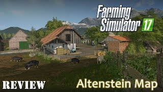 Farming Simulator 17 - Altenstien Map Review - Great Small Map