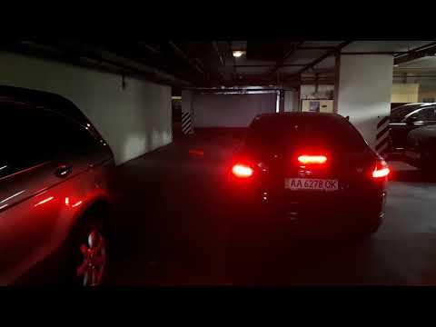 Заезд и парковка в подземном гараже