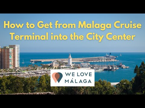 How to get from Malaga Cruise Terminal (Port of Malaga) into the City Center
