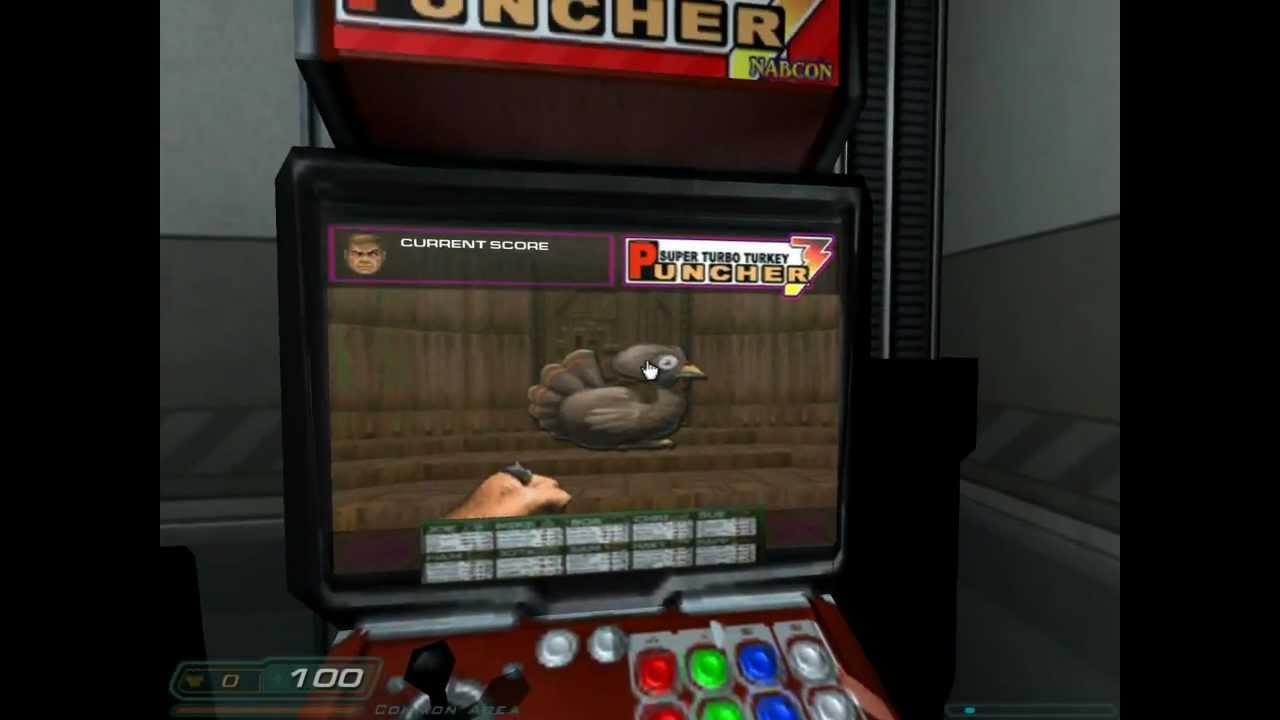 DOOM 3 - Chicken Arcade! Episode 1 - Part 2 - YouTube