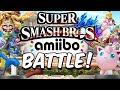 "Super Smash Bros for Wii U - Amiibo Battle! - Episode 3: Boys vs Girls! ""Round 1!"""