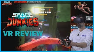 VR with Space Junkies  Oculus Review (Video Game Video Review)
