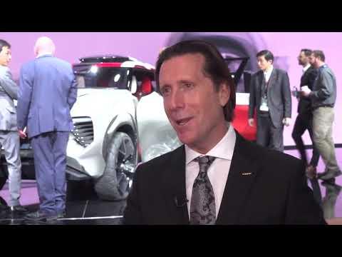 Nissan at 2018 NAIAS, Detroit   Alfonso Albaisa, Senior Vice President for Globa Full HD
