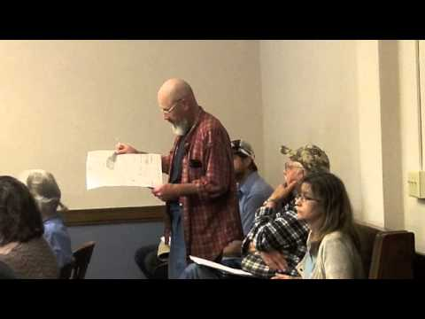 Ashland County Zoning Meeting June 13 2013