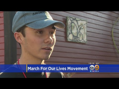 #MarchForOurLives: Parkland Shooting Survivors In SoCal To Register Voters