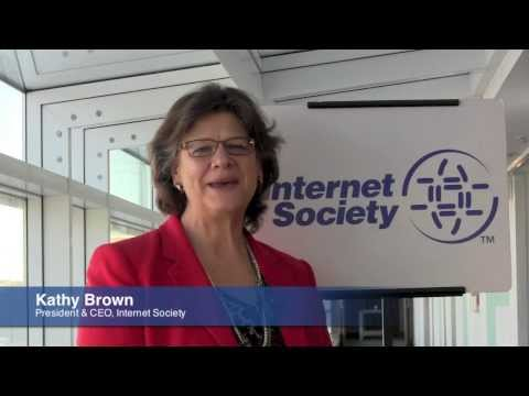 Web At 25 Years - Internet Society President & CEO Kathy Brown
