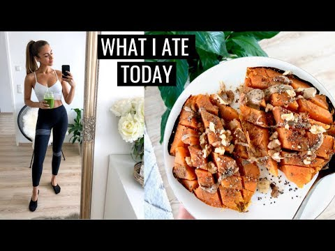 WHAT I ATE TODAY   Healthy Simple Food Ideas   Annie Jaffrey