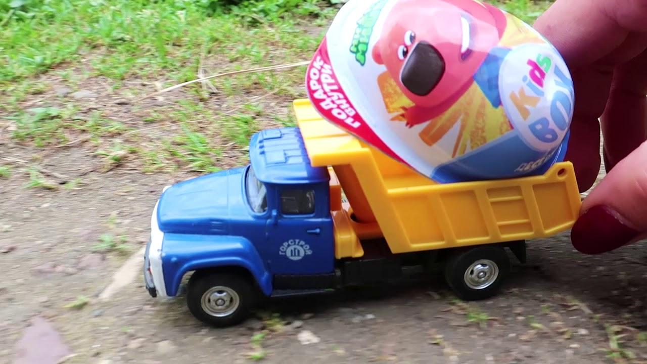 Видео с игрушками. Буба и новый киндер сюрприз МиМи Мишки