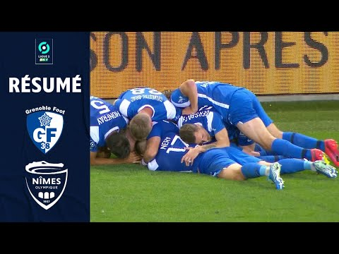 Grenoble Nimes Goals And Highlights