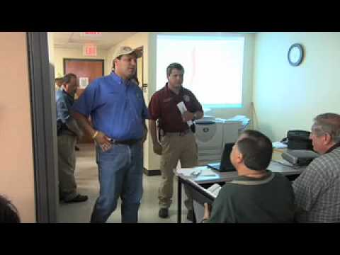 Hurricane Dolly 2008: Hidalgo County Judge JD Salinas Meets With City Leaders