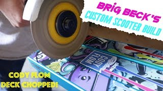 Lucky Scooters | Brig Beck Custom Scooter Build