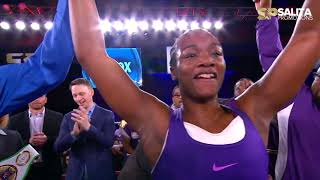 AMAZING! THE GWOAT CLARESSA SHIELDS ALL FIGHTS HIGHLIGHTS
