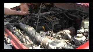 REPLACE TIMING CHAIN 1993 TOYOTA 4RUNNER 22RE ENGINE I4