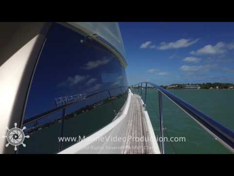 Prestige 560 Fly Boat Video Tour by Marine Video Productions
