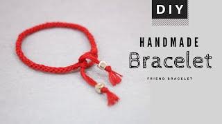Red Lucky Bracelet | Fabric Bracelet | Friendship Bracelet | DYI Bracelet | HANDMADE GIFT | Tutorial