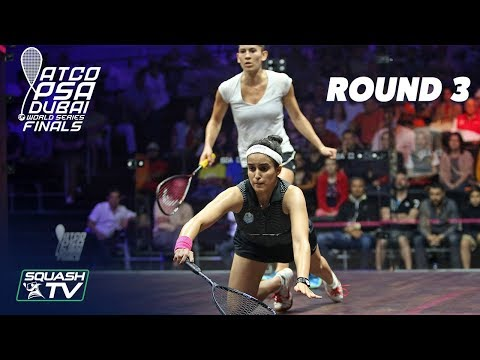 Squash: World Series Finals 2017/18 - Women's Rd 3 Roundup