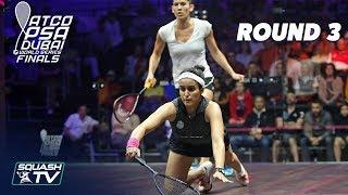 Squash: World Series Finals 2017/18 - Women's Rd 3 Roundup