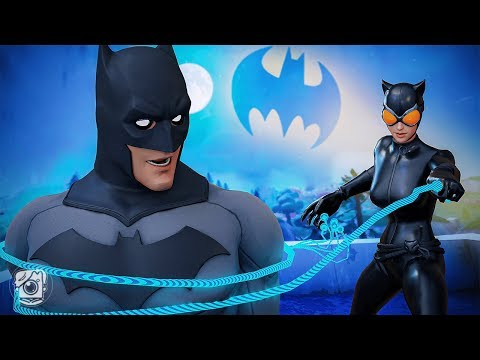 CATWOMAN CAPTURES BATMAN! *SEASON X* (A Fortnite Short Film)