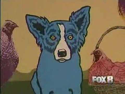 FOX News - George Rodrigue Last Day at NOMA