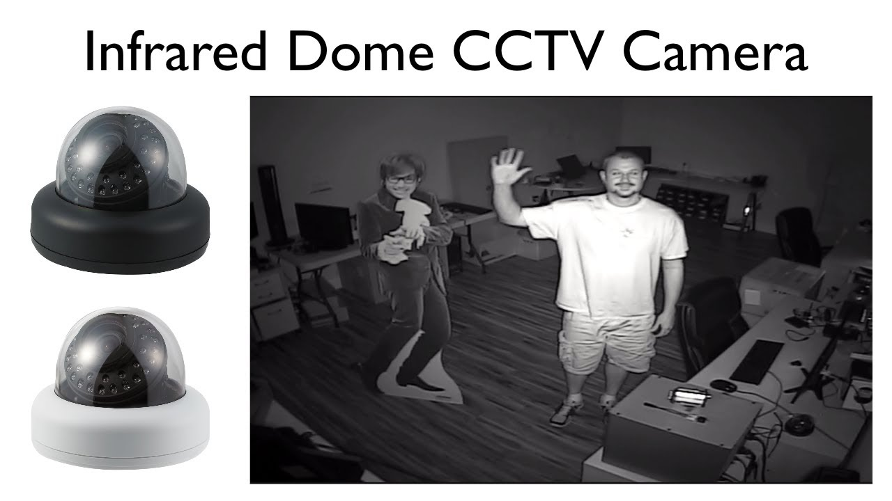 Indoor Dome IR Security Camera Infrared Video Surveillance ...