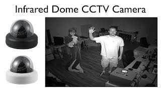 Indoor Dome IR Security Camera Infrared Video Surveillance Demo
