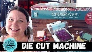 Crossover II Die Cut Machine - Cuts EVERYTHING!!!