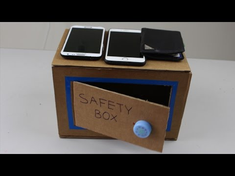 DIY How To Make A Money Safety Box at Home