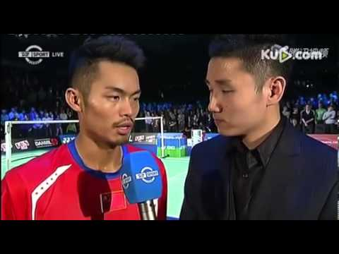 Lin Dan's interview after the match with Peter Gade