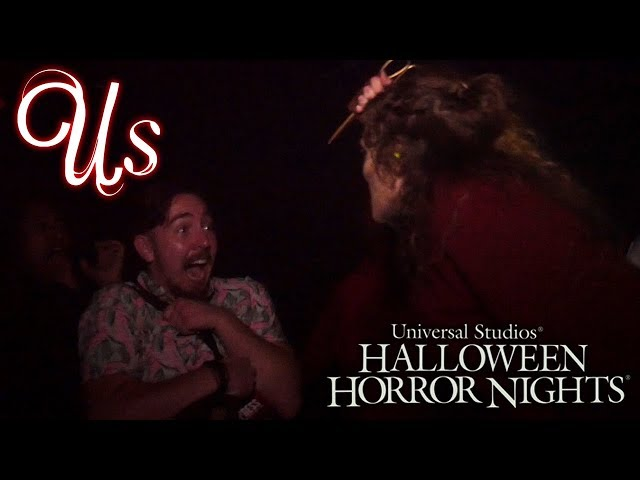 Halloween Horror Nights 2019 - Us Walkthrough! | Universal Studios Hollywood