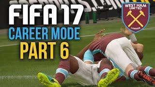 FIFA 17 Career Mode Gameplay Walkthrough Part 6 - CUP GAME (West Ham)