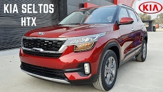 Kia Seltos Htx 2019 Suv Real Life Review   Price Details, New Interiors, Latest Features | Seltos