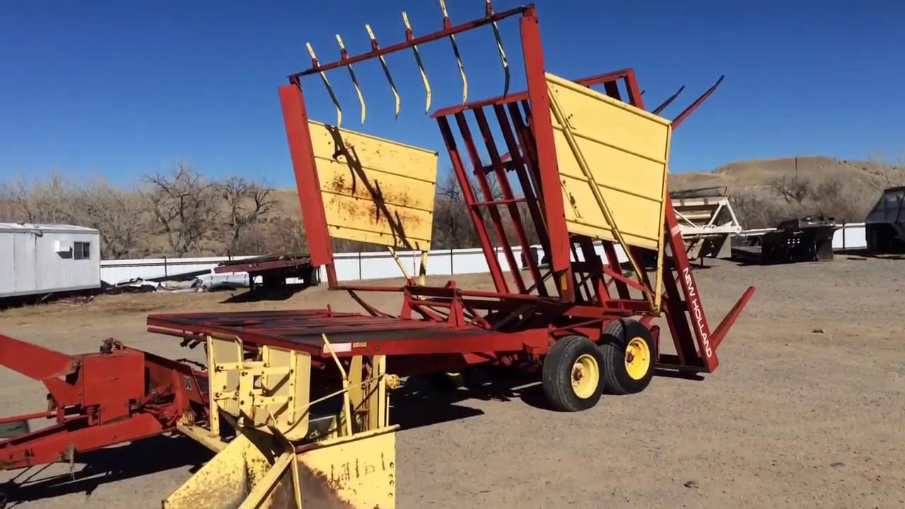New Holland 1037 Bale Wagon You