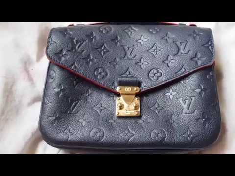 a0696f90ba57 Louis Vuitton Unboxing- The Pochette Metis in Empreinte - YouTube