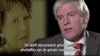 Willem Jonker speaks about Neelie Kroes as she receives honorary doctorate