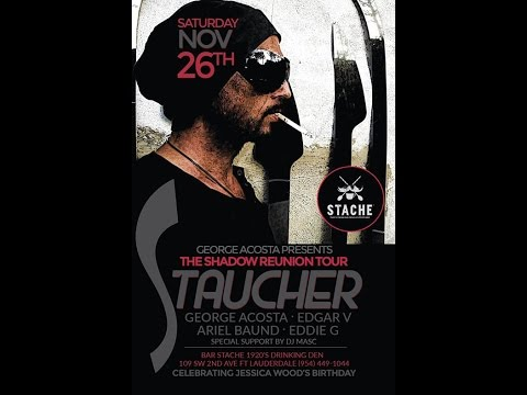 Taucher live at Stache, Fort Lauderdale November 26th 2016