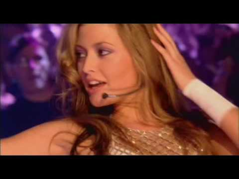 Holly Valance  TOTP   Down Boy 11 10 02