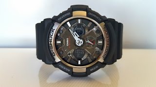 обзор и настройка CASIO G-SHOCK GA-200-1A (Review and setting)