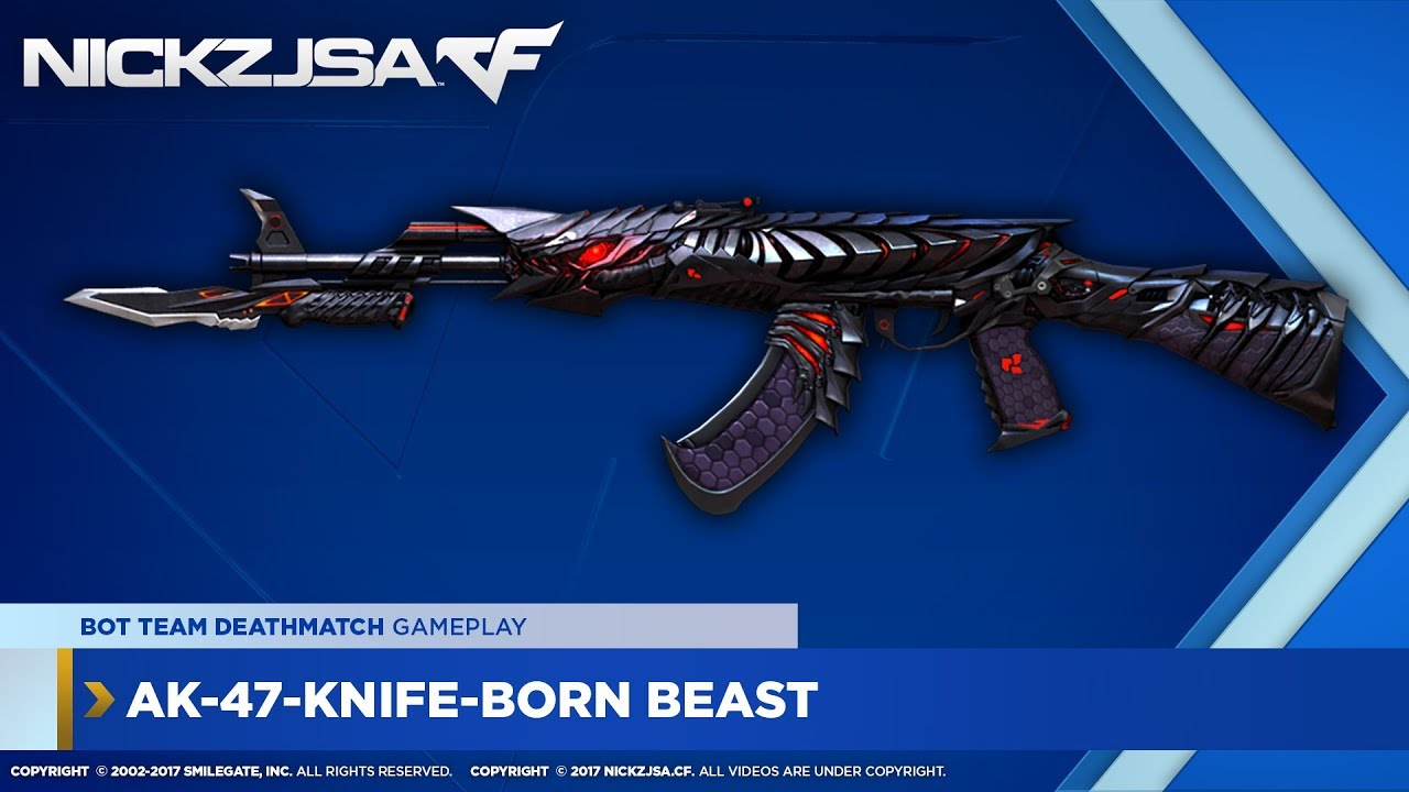 AK-47-Knife-Born Beast ...