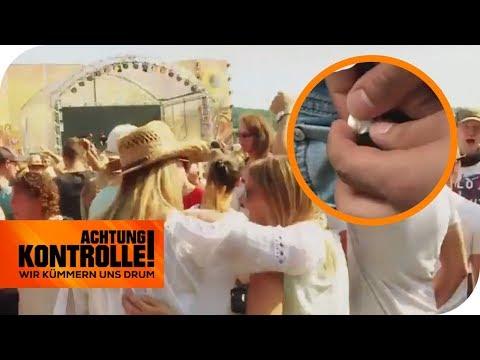 Drogenkontrolle auf dem Festival: Was findet die Security? | Achtung Kontrolle | kabel eins