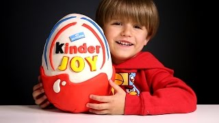 Giant Kinder Joy Surprise Egg made of Play-Doh | Arcadius Kul