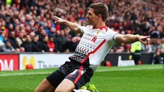 The Match Gerrard Almost Scored A Hattrick At Old Trafford