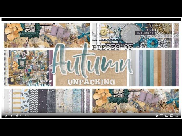 Pieces of Autumn - Unpacking by NBK-Design + Joyce Paul