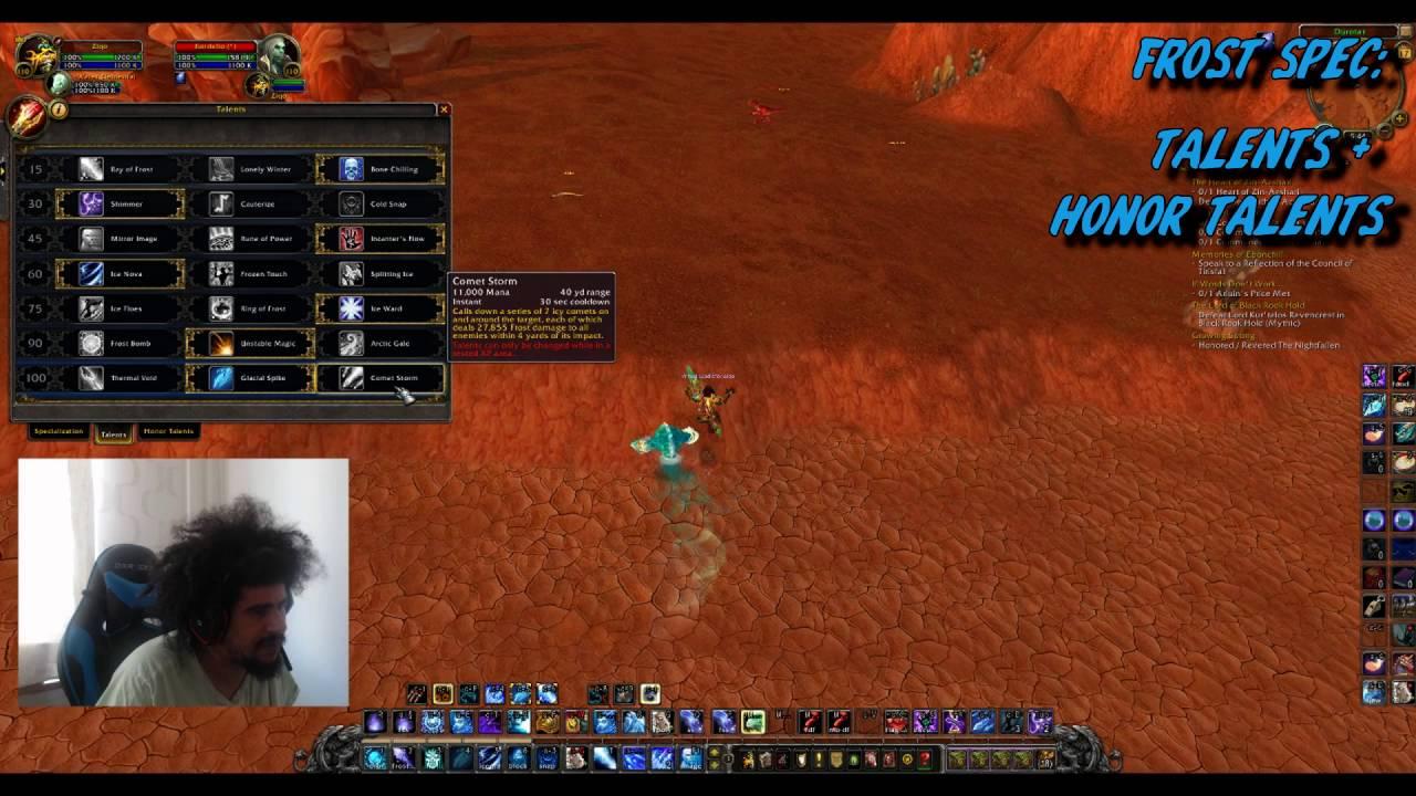 ziQo WoW Legion Frost Mage PvP guide - Artifact/talents/burst