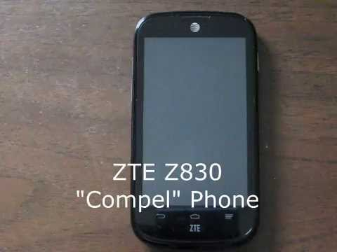 Adding Changing Or Deleting Zte Z830 Home Screen Youtube