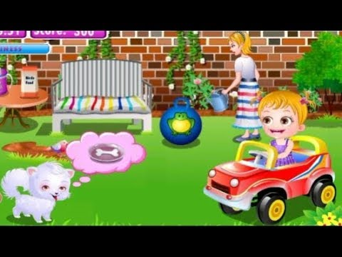 Baby Hazel Playground with Cute Dogs Rain Rain Go Away Nursery Rhyme Song for Babies