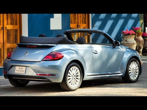 2019 Beetle Convertible Final Edition - One Of The Most Iconic Cars In The World