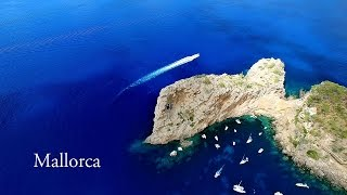 Beautiful Mallorca (Balearic Islands) AERIAL DRONE 4K VIDEO