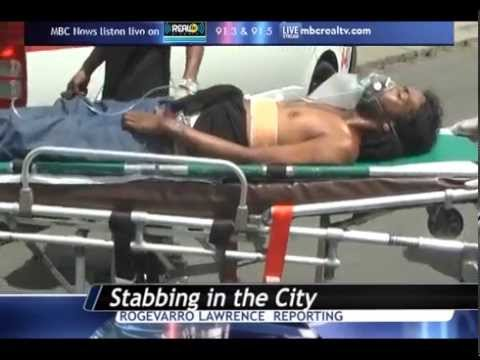 Stabbing incident in Castries - MBC News St Lucia